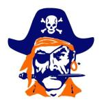Orange Coast College pirate logo