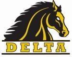 San Joaquin Delta College Mustangs logo GOOD
