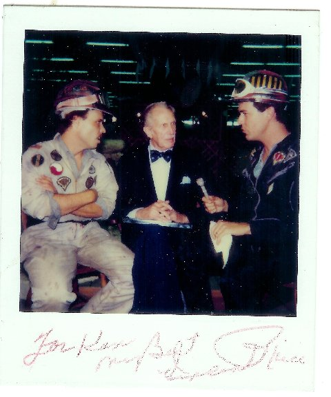Another pic of Vincent Price being interviewed by Randy and Richard on The Texas 27 Film Vault.