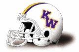 Kansas Wesleyan Coyotes helmet BRAND NEW