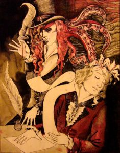 Maldoror and Mervyn by Monsieur Le Six