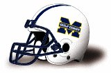 Mississippi Gulf Coast Bulldogs helmet NEW