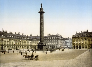 The Place Vendome, site of Maldoror's final confrontation with God