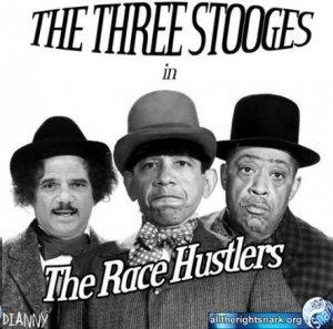 The Trinity of Race Hatred: Black bigots Eric Holder, Barack Obama and Al Sharpton