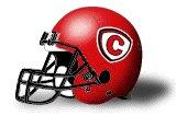 Carthage Red Men helmet