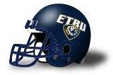 East Texas Baptist Tigers helmet