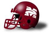 Morehouse Maroon Tigers helmet