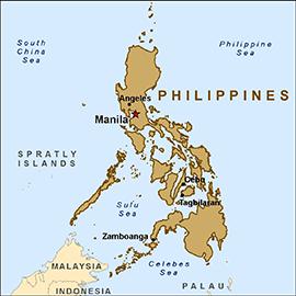 Philippines Map 3