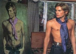 Dorian and his suspiciously Warhol-esque portrait
