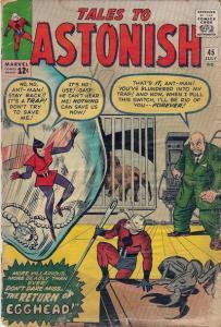 Tales to Astonish 45