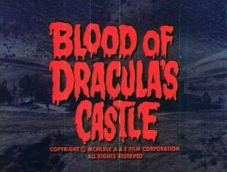 Blood of Dracula's Castle 1