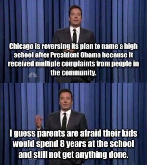 Jimmy Kimmel joke about Obama