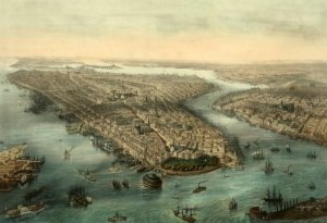 manhattan in the 1600s