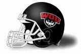 Western Oregon Wolves helmet