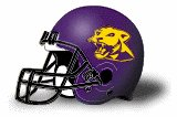 Ellsworth College Panthers helmet NEW