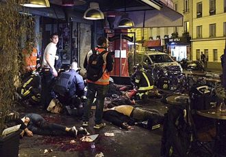 Muslim attacks in paris