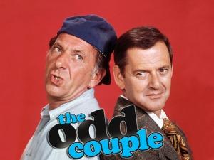 The Odd Couple Jack Klugman (left) and Tony Randall