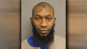 The Muslim man charged with setting the mosque on fire.