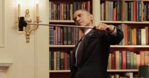 Obama selfie stick