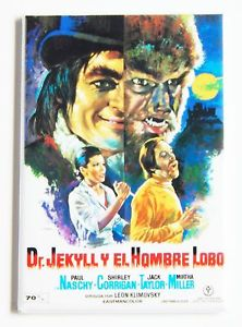 Dr Jekyll vs the Wolf Man
