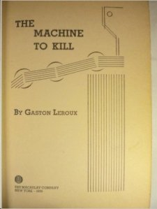 machine to kill