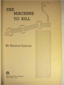 machine to kill