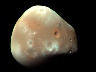 The Martian moon Deimos