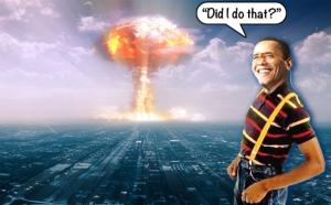 Obama as Urkel