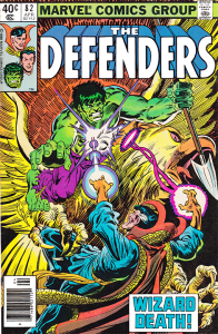 Defenders 82 hulk on bird vs Doc