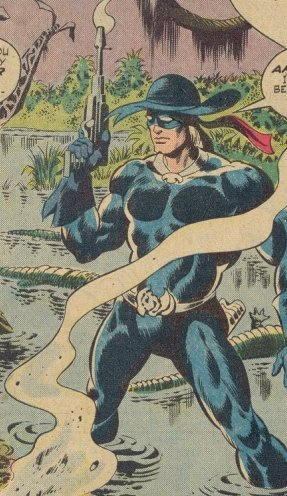 Foolkiller in swamp in Man Thing