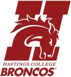 Hastings College Broncos logo