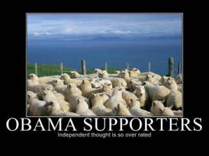 Obama supporters BIG