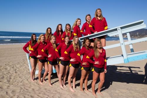 USC Beach volleyball BIG