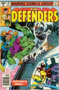 Defenders 85 black panther