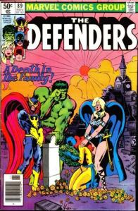 Defenders 89 death in family