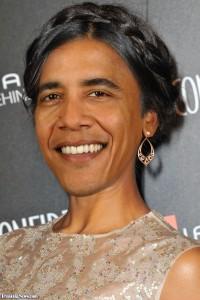 Obama as a woman