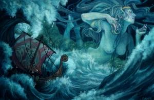 Ran the Norse goddess
