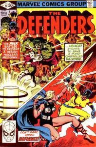 Defenders 91 Mandrill nuke meltdown