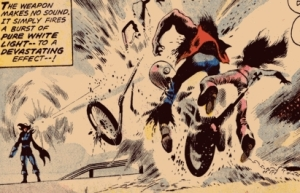Foolkiller shooting bikers