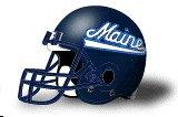 Maine Black Bears helmet