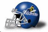 Dakota State Trojans helmet NEW