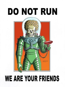 Mars Attacks Loston Wallace