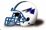 Mayville State Comets helmet M