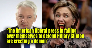 hillary-clinton-assange-demon