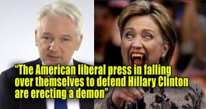 hillary-clinton-assange-demon