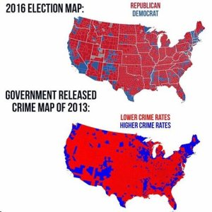 map-of-crime-and-democrats