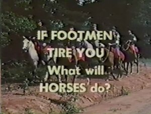 If Footmen Tire you 2
