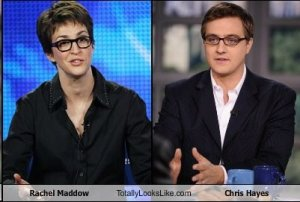 Rachel Maddow Chris Hayes