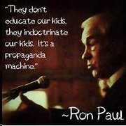 Ron Paul quote on education