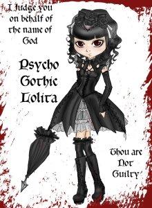 Psycho Gothic Lolita 5